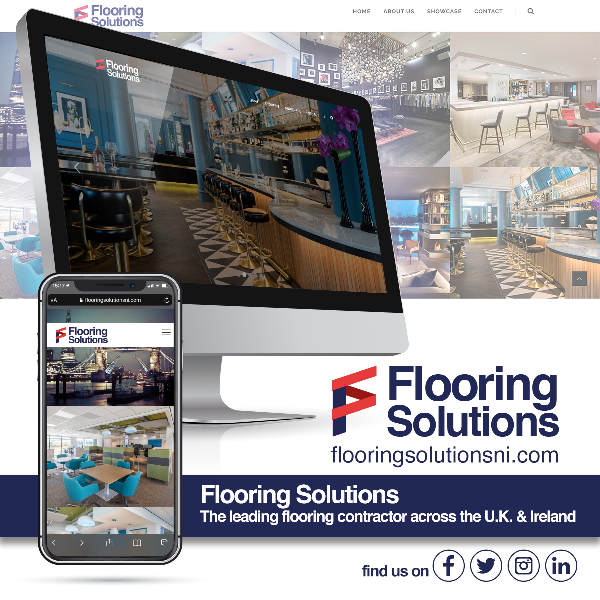 NI Designer web design flooringsolutionsni.com