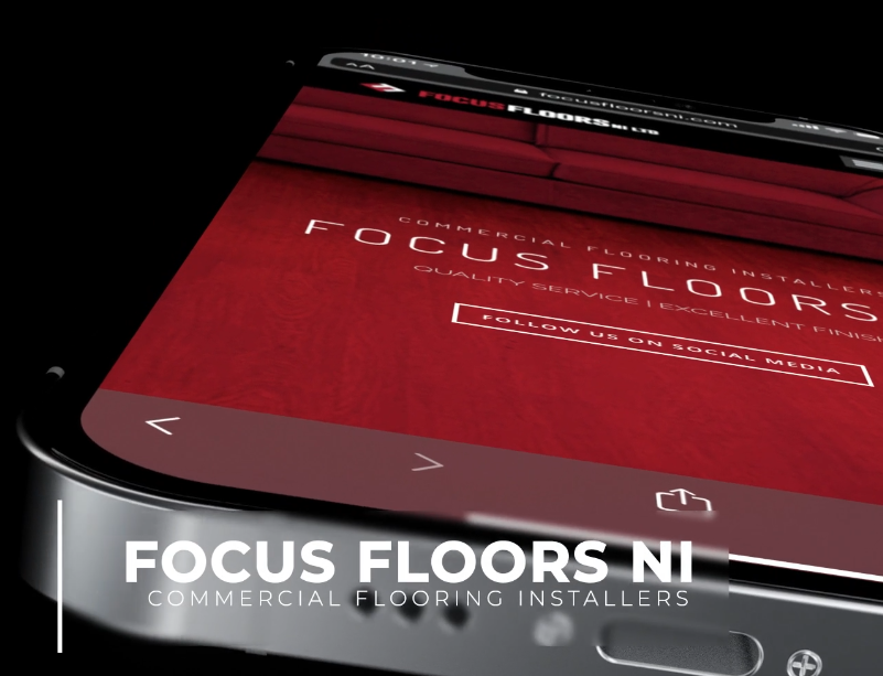 NI Designer web design Focus Floors NI