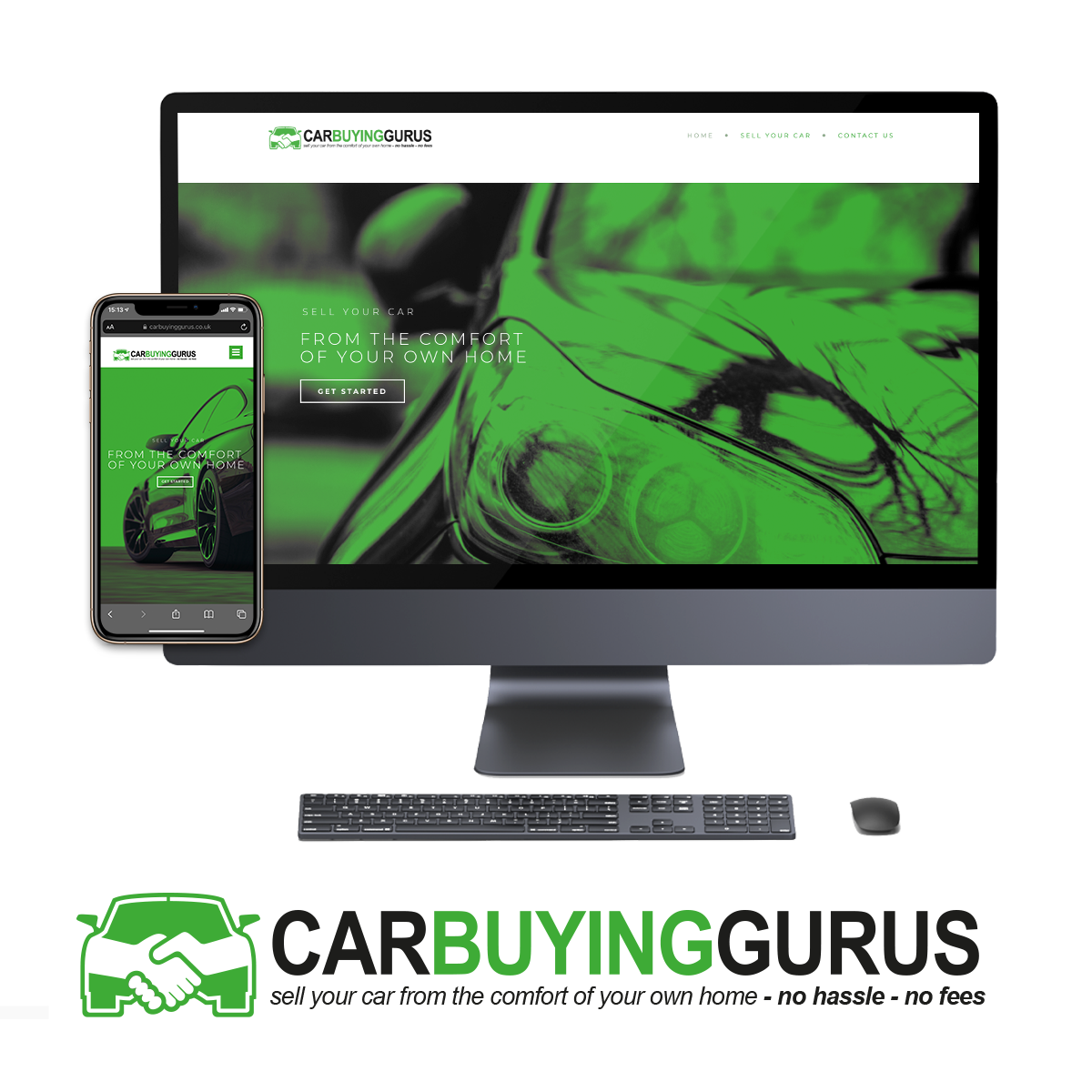 NI Designer web design car buying gurus