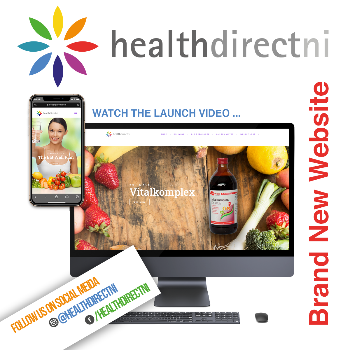 NI Designer web design Health Direct NI